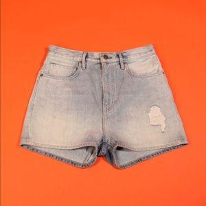 Levi's Made & Crafted Denim Barrel Shorts
